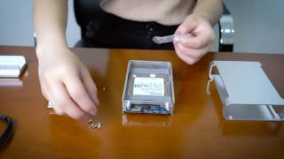 [Unboxing]Yottamaster Aluminum Alloy 2.5 Inch HDD SSD Hard Drive Enclosure 4TB