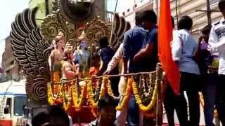 Sri Ram Navami shobha yatra 2015 at mangalhat 2