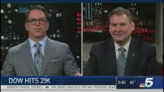 Bill Dendy LIVE on television on 3/3/17