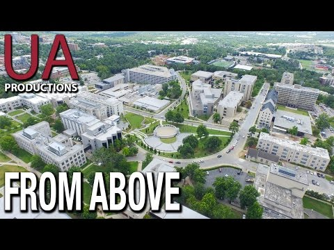 The University of Arkansas: From Above