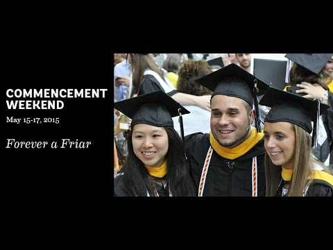 2015 Providence College Commencement
