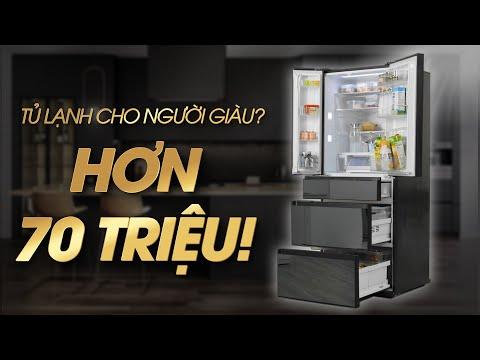 Tủ lạnh Panasonic cho NGƯỜI GIÀU? Hơn 70 TRIỆU, ai sẽ mua? (F603GT-X2) • Điện máy XANH