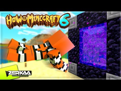 VISITING The How To Minecraft NETHER World! (How To Minecraft S6 #8)
