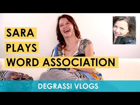 Degrassi Vlogs: Sara Plays Word Association