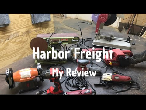 Harbor Freight Tools| My Review