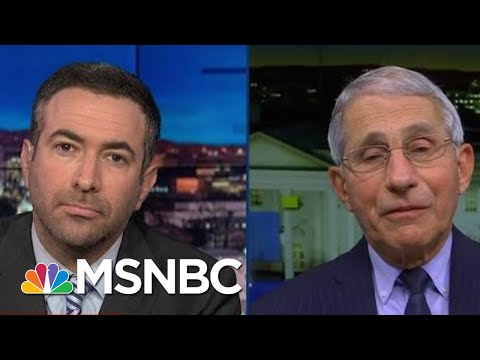 See Dr. Fauci Explain Why U.S. Vaccine Is Coming Now   The Beat With Ari Melber   MSNBC