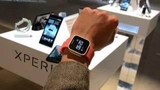 мини обзор умных часов Sony Xperia SmartWatch от Droider.ru