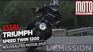 Triumph Speed Twin 2019 - Une Rétro Bien Sportive