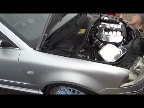 VW Passat W8 featuring Lamborghini and BBS parts - detailed walkaround and exhaust sound
