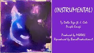 Ty Dolla $ign - Purple Emoji ft. J. Cole (Official Instrumental)