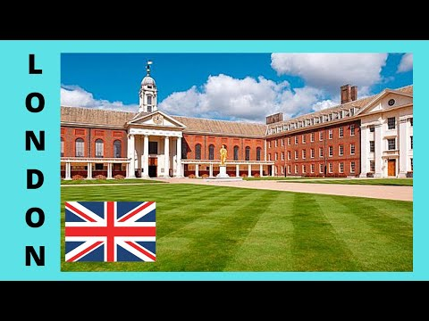 The historic Royal Hospital Chelsea, LONDON (England)
