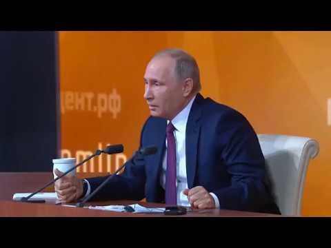 Анекдот от Путина. Разрядил обстановочку!!!