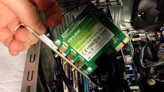 Installing a Wireless Adapter: TP-LINK N900 Wireless Adapter