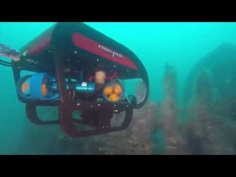 Seatronics Predator II ROV - In Action