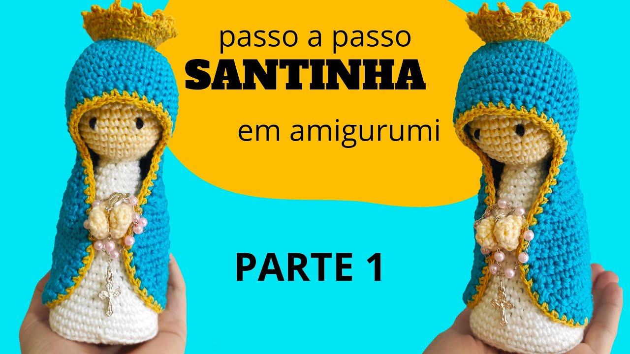 amigurumi santinha santa Rita de cassia. - YouTube | 720x1280