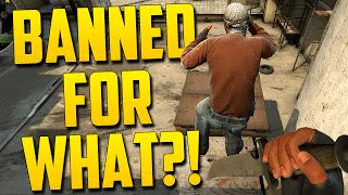 BANNED AGAIN! - CS:GO Funny Moments in Competitive