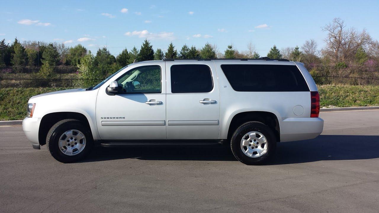 Sold 2014 Chevrolet Suburban Lt 4x2 Leather 8 Passenger