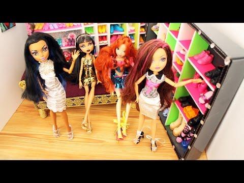 Make doll high heel shoes or sandals with aluminum foil- Doll Crafts - simplekidscrafts