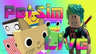 (Roblox) PetSim!!! Space/Candy World! ///Avatar-Item-Giveaway/// (RoadTo600)