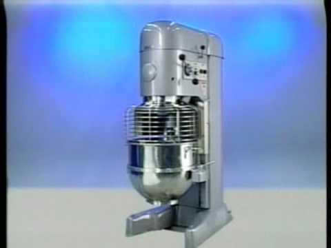 Hobart M802/V1401 Mixer Training on