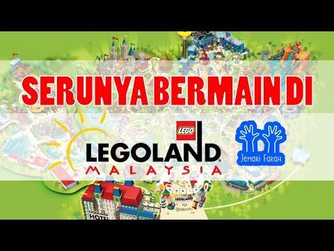 Serunya Bermain di Legoland Theme Park Malaysia