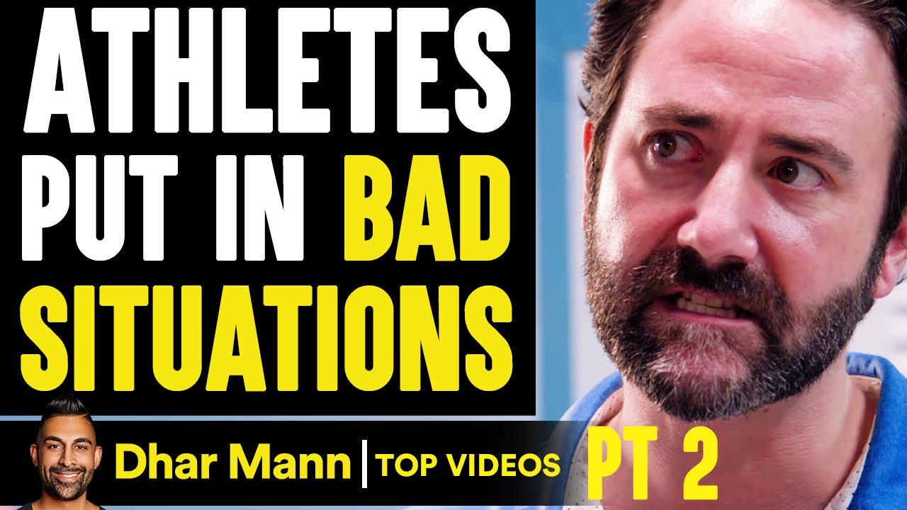 ATHLETES Put In BAD SITUATIONS, What Happens Is Shocking PT 2 | Dhar Mann