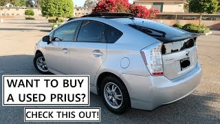 BEST 2010 Toyota Prius Solar Roof with Great MPG - Review