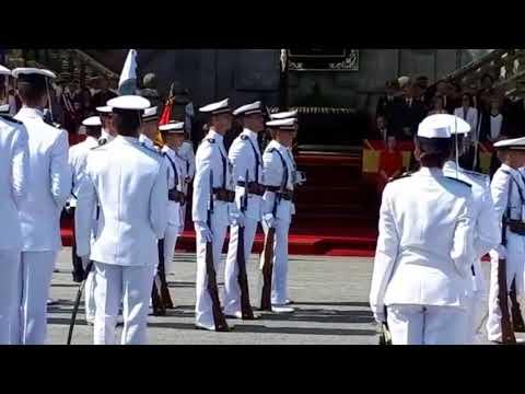 La Escuela Naval celebrael acto de Jura de Bandera y entrega de Reales Despachos