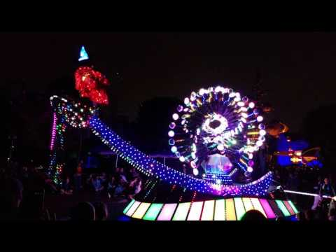 4K Video Test From My Galaxy S7 Edge - Paint The Night Parade