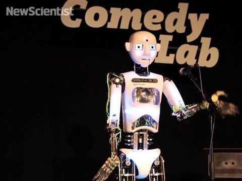 Robo-comic cracks jokes for humans