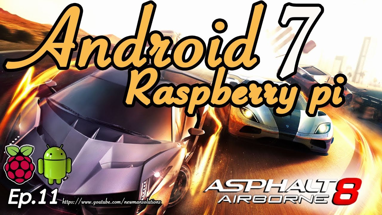 Raspberry pi android games