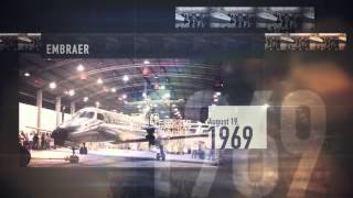 A History of Innovation by Embraer Aeronautics Brazil #Embraer