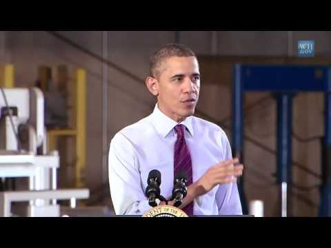 President Obama Speaks on an Economy Built to Last in Iowa