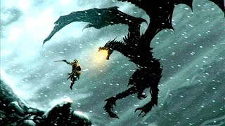 The Elder Scrolls V: Skyrim: Прохождение с модами #2 Дракон