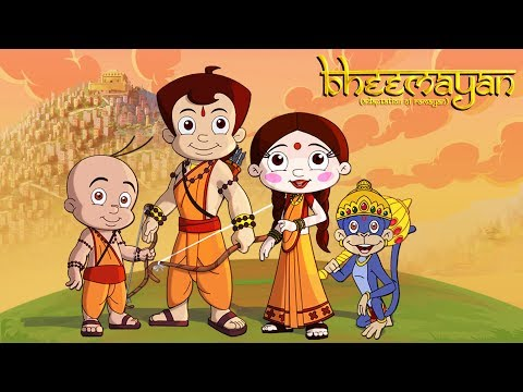 Bheemayan Title Song | Chhota Bheem Latest TV Movie | Hindi Kids Songs