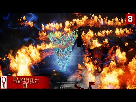 ROAYL FIRE SLUG - Divinity Original Sin 2 Gameplay Part 8 - [Coop Multiplayer]