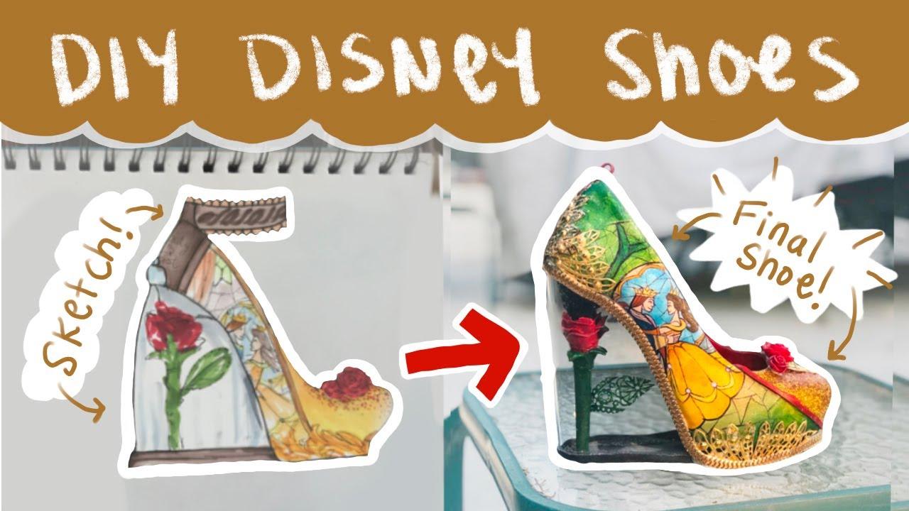 making my custom disney shoes - a
