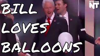 Bill Clinton Loves Balloons