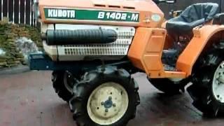 Kubota  B1402D ciągnik ogrodniczy. www.akant-ogrody.pl