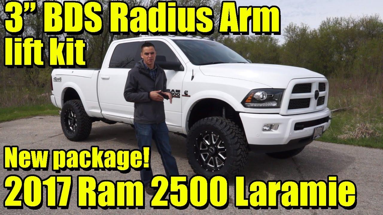 "2017 Dodge Ram 1500 >> NEW! 3"" BDS Radius Arm Lift Kit! LIFTED 2017 Ram 2500 Cummins! Fox Shocks, Sota Wheels, and more ..."