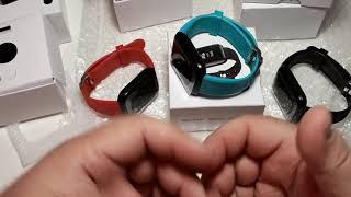 Величезна купа посилок з Aliexpress огляд розпакування. Я в ШОЦІ ! Крутий Смарт браслет D13 Smartwatch