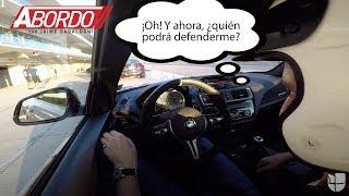 La reacción de Jaime Gabaldoni cuando mata a un BMW M2 en plena curva