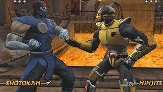 Mortal Kombat Armageddon SUB-ZERO - (VERY HARD) - (PS2)【TAS】