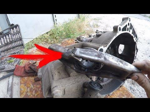 volkswagen t4- как снять коробку. и почему педаль сцепления в полу