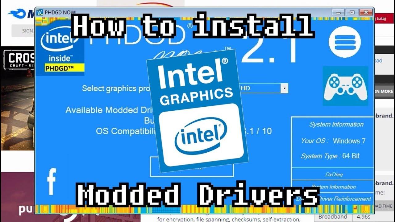 Suporte para drivers gráficos® Intel - intel.com.br