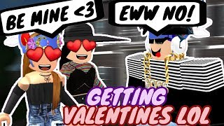 FORCING BOYS IN ROBLOX TO BE OUR VALENTINES!! (LOL)
