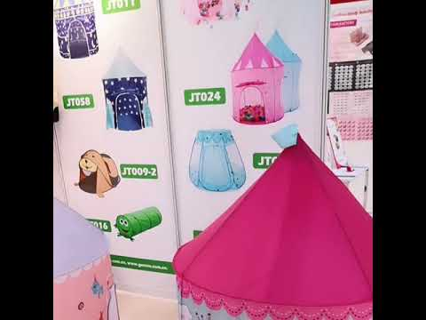 JT079 Outdoor Funny 3 in 1 Folding Kids Pop Up House Play ...