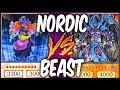 NORDIC GODS vs SACRED BEASTS! (Yu-gi-oh God Card Deck Duel!)