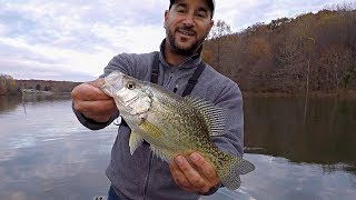 A Crappy Day Becomes a Crappie Day!!! (Fall Bass & Crappie Fishing)