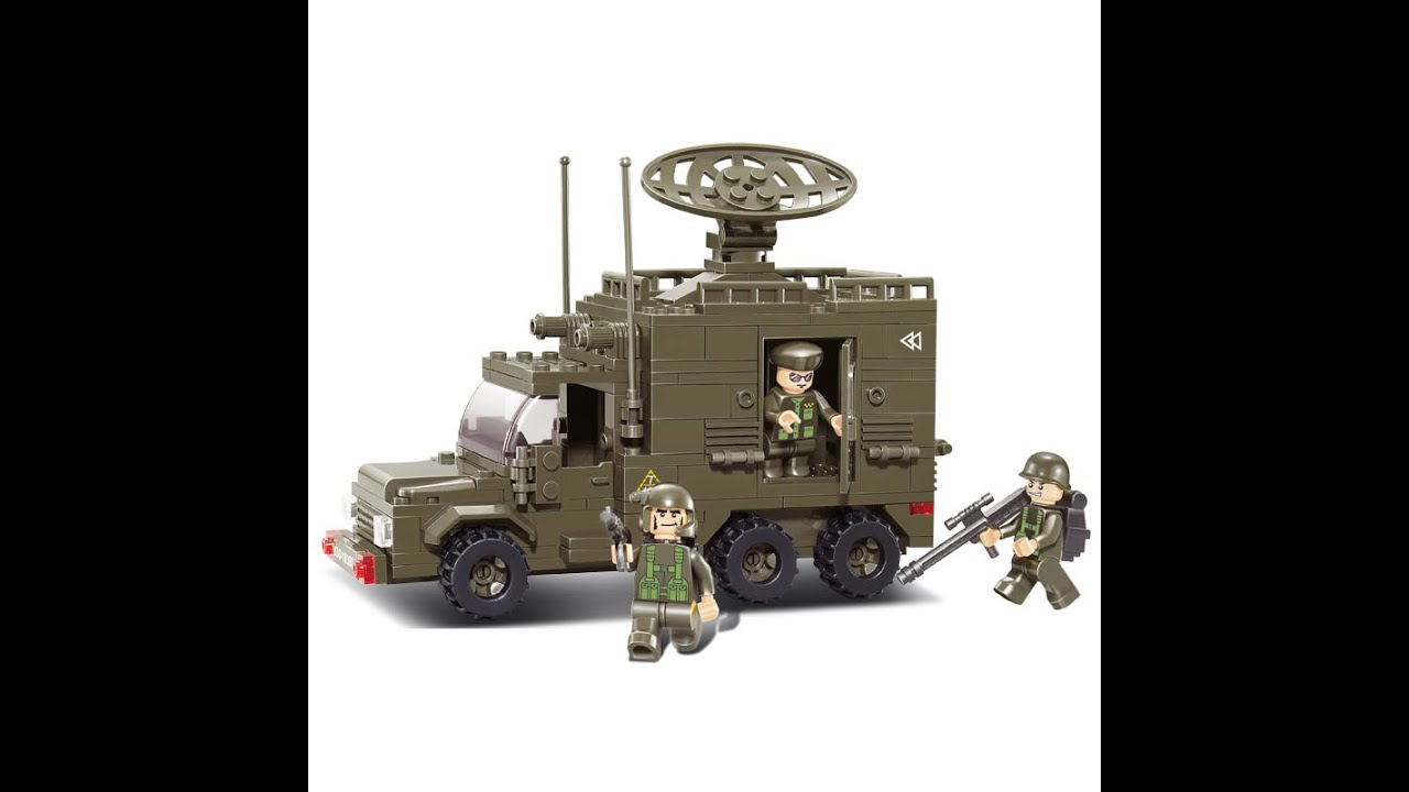 Lego Military Vehicles Lego Army Trucks Toys For Kids